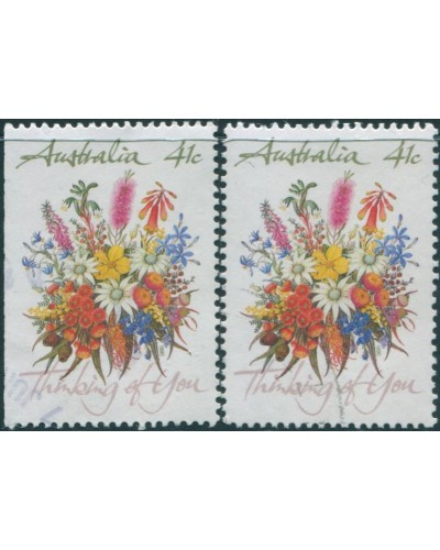 Australia 1990 SG1231 43c Wildflowers FU