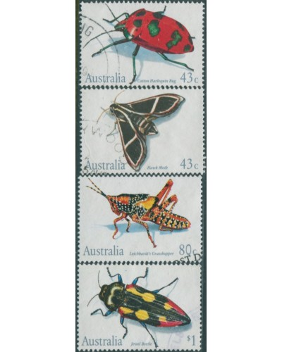 Australia 1991 SG1287-1290 Insects set FU