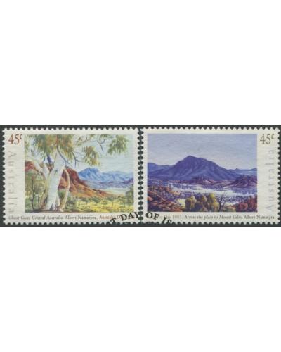 Australia 1993 SG1386-1387 Australia Day Paintings set FU