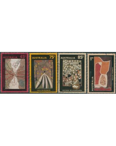 Australia 1993 SG1388-1391 Aboriginal Paintings set FU