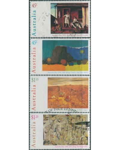 Australia 1995 SG1503-1506 Australia Day Paintings set FU
