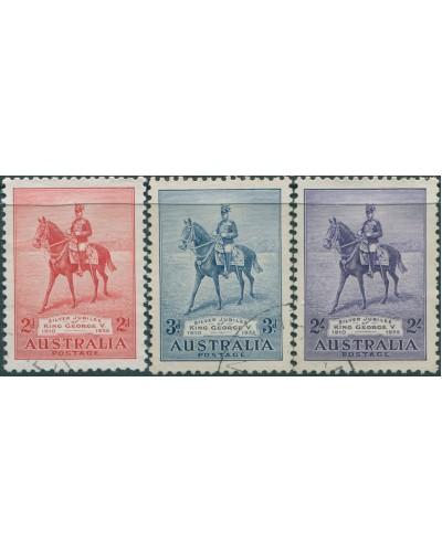 Australia 1935 SG156 Jubilee set FU