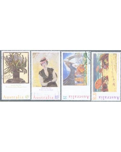Australia 1996 SG1573-1576 Australia Day paintings set FU