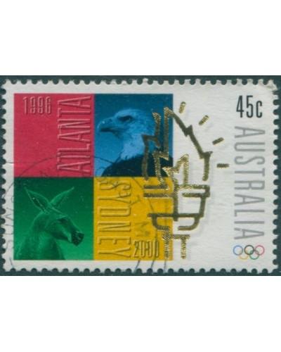 Australia 1996 SG1638 45c Olympic Flag FU
