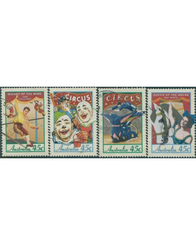 Australia 1997 SG1675-1678 Circus set of 4 FU