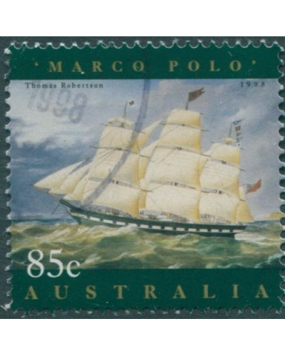 Australia 1998 SG1728 85c Ship Painting Marco Polo FU