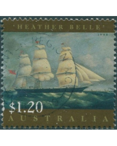 Australia 1998 SG1730 $1.20 Ship Painting Heather Belle FU