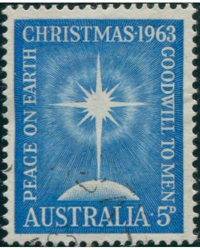 Australia 1963 SG361 5d Christmas FU