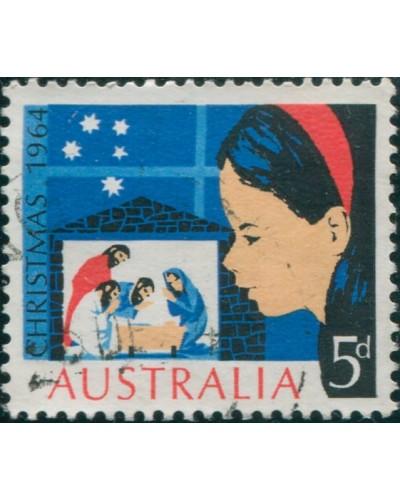 Australia 1964 SG372 5d Christmas FU