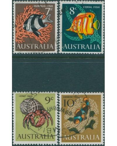 Australia 1966 SG388-391 Fish set FU