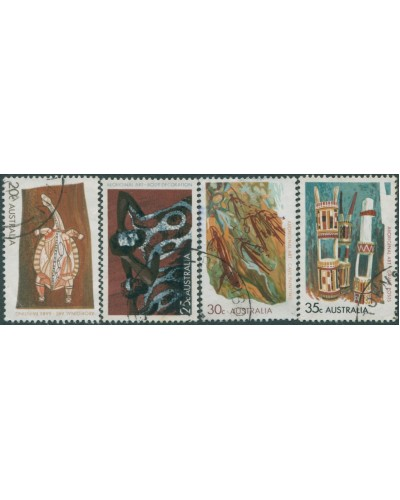 Australia 1971 SG494 Aboriginal Art set FU