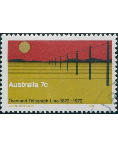 Australia 1972 SG517 7c Telegraph FU
