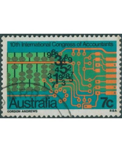 Australia 1972 SG522 7c Accountants FU