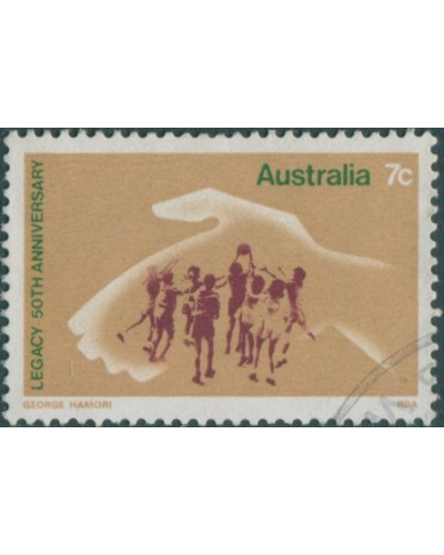 Australia 1973 SG553 7c Legacy FU