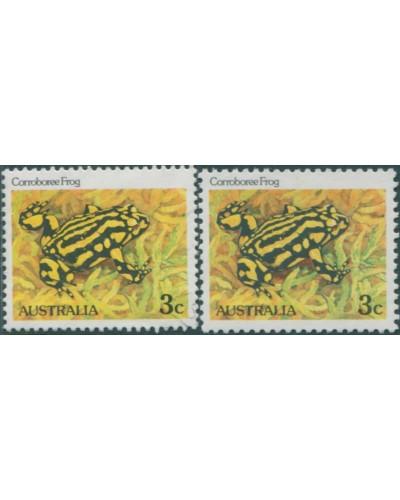 Australia 1982 SG782 3c Corroboree Frog set FU