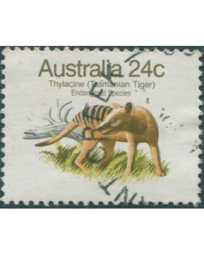 Australia 1981 SG788 24c Tasmanian Tiger FU