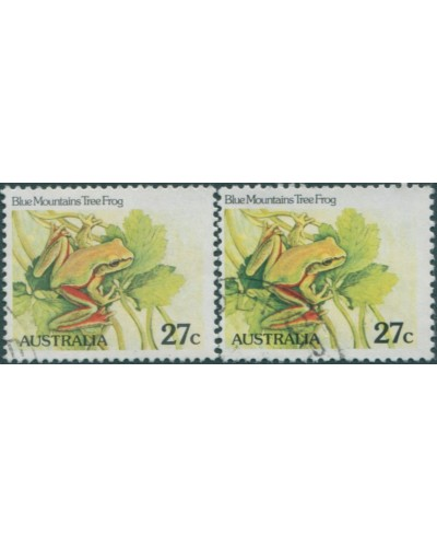 Australia 1982 SG790a 27c Blue Mountains Tree Frog set FU
