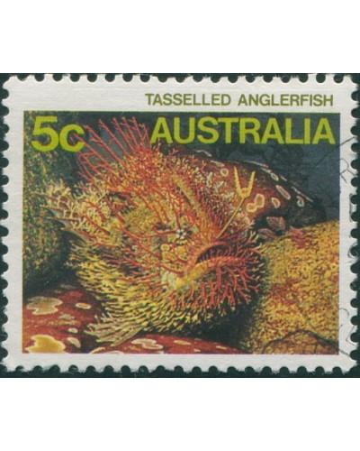 Australia 1984 SG921 5c Tasselled Anglerfish FU