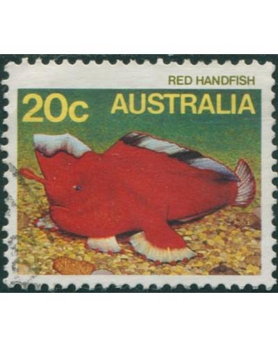 Australia 1984 SG923 20c Red Handfish FU