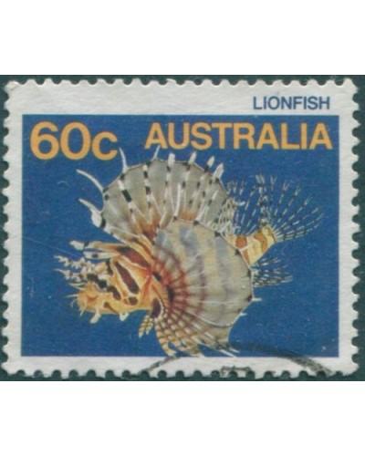 Australia 1984 SG931 60c Lionfish FU