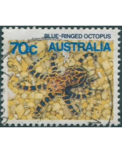Australia 1984 SG933 70c Blue-ringed Octopus FU