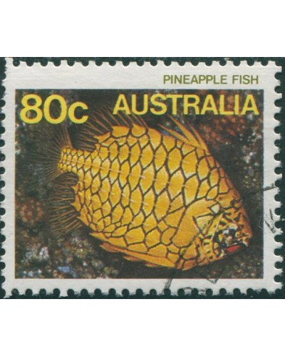 Australia 1984 SG934 80c Pineapple Fish FU