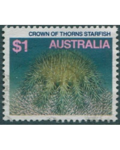 Australia 1984 SG937 $1 Crown of Thorns Starfish FU