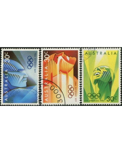 Australia 1984 SG941 Olympics set FU