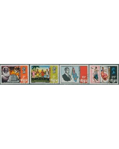 Fiji 1970 SG428-431 Independence set FU