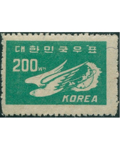Korea South 1949 SG123 200w Dove and Globe MLH