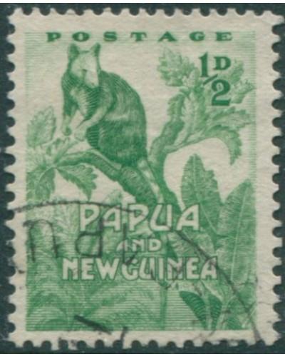 Papua New Guinea 1952 SG1 ½d Tree Kangaroo FU