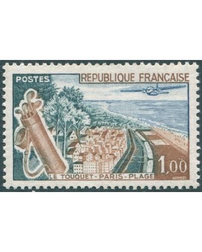 France 1961 SG1550 1f Le Touquet-Paris-Plage MNH