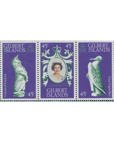 Gilbert Islands 1978 SG68-70 Coronation set MNH