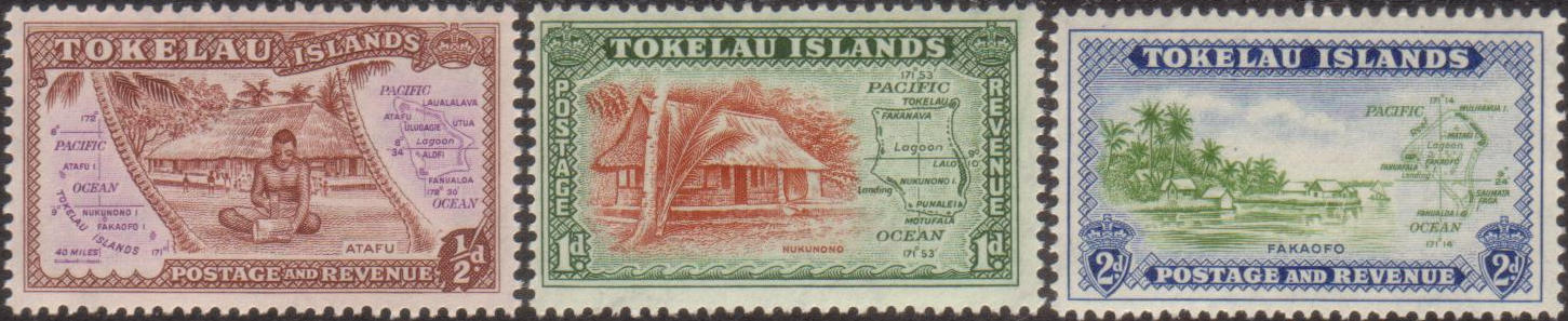 First Stamps of Tokelau