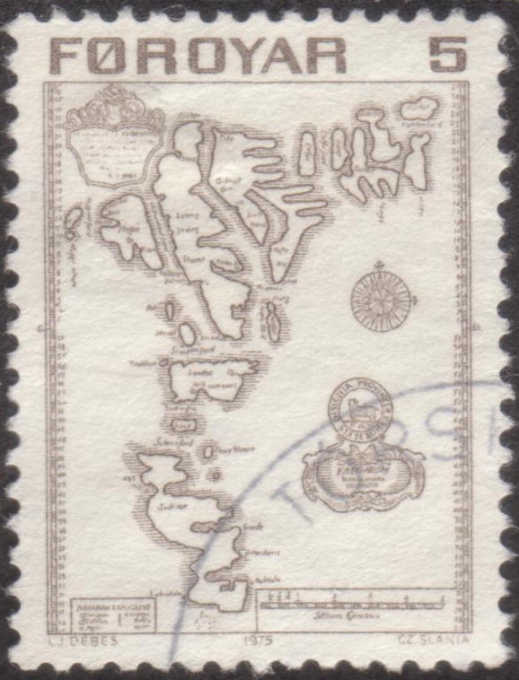 Early Stamp of Faroe Islands