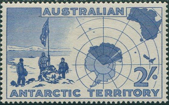 First Stamp of Australian Antarctic Territory