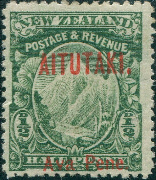 Aitutaki First Stamp