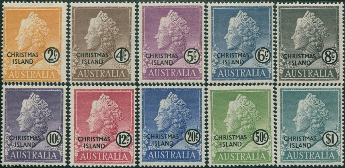 First Stamps of Christmas Island