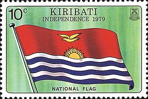First Stamp of Kiribati