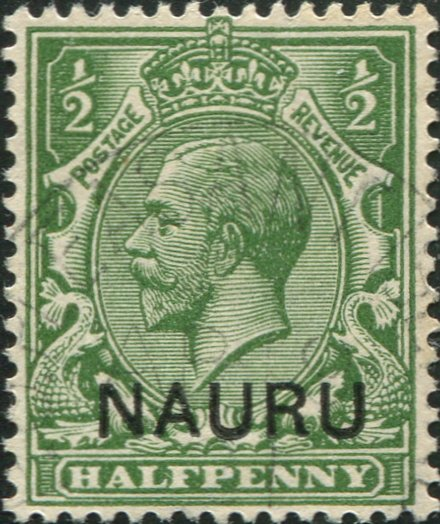 First Stamp of Nauru