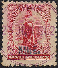 First Stamp of Niue