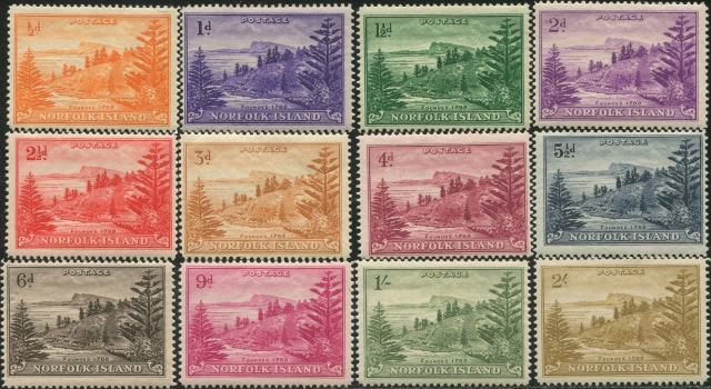 First Stamps of Norfolk Island