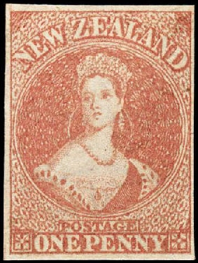 First Stamp of New Zealand