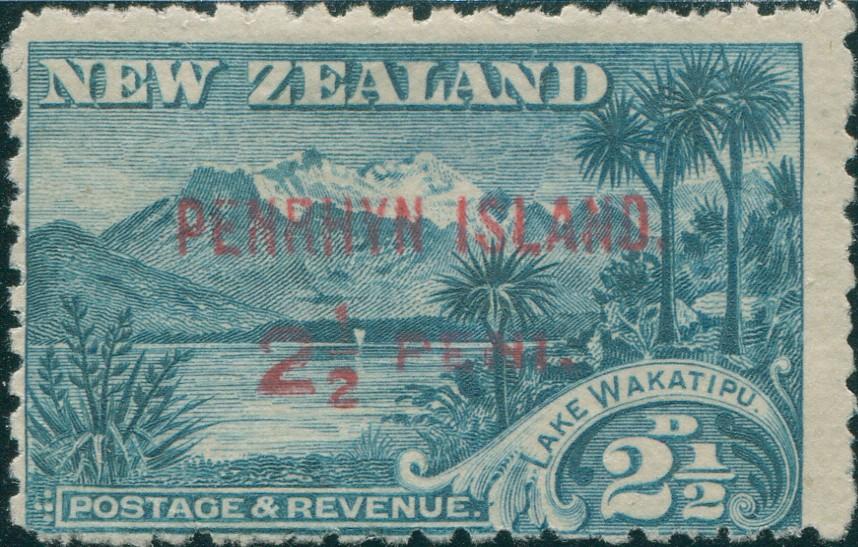 Penrhyn First Stamp