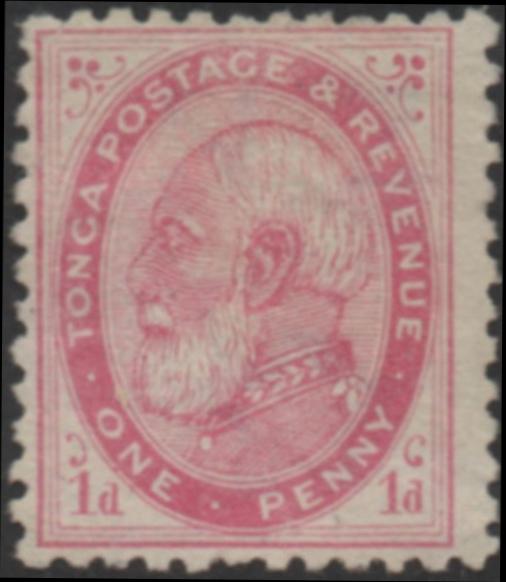 1st stamp of Tonga