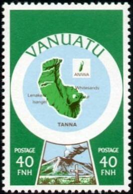 Stamp from Vanuatu first series