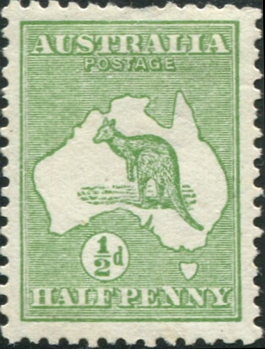 First Australian Commonwealth Stamp